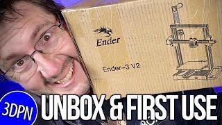 WAS LIVE: Ender 3 V2 First Print?!