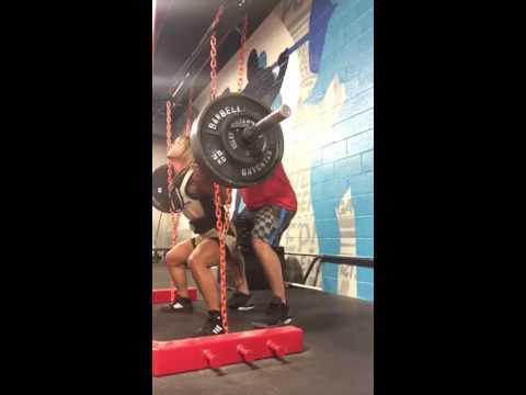ME Squat Paused Progressive Chain squat 3''+parallel  #2