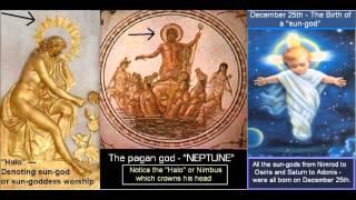 Dr. Scott Johnson 6/9/13 - (4/5) Halos, Nimbus, Pagan Sun Gods, X-Mas, NImrod, Tammuz, etc.