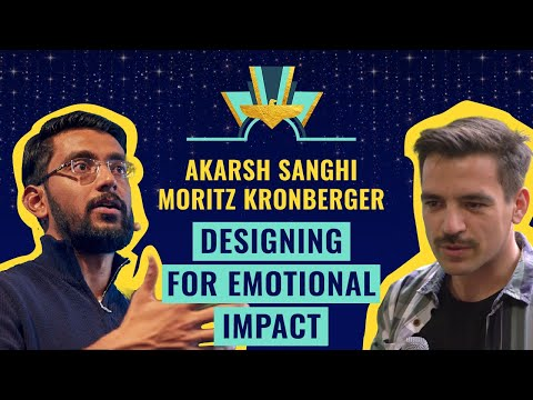 """Designing for Emotional Impact"" by Akarsh Sanghi (N26) & Moritz K. (Zalando)"