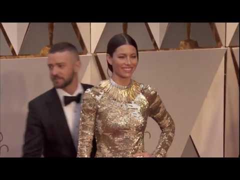 Justin Timberlake at Red Carpet Oscar 2017 HD