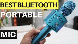 BONAOK Bluetooth Microphone UNBOX & REVIEW - Karaoke Mic With Speaker
