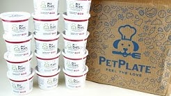 PetPlate April 2018 Dog Food Subscription Unboxing + Exclusive Coupon
