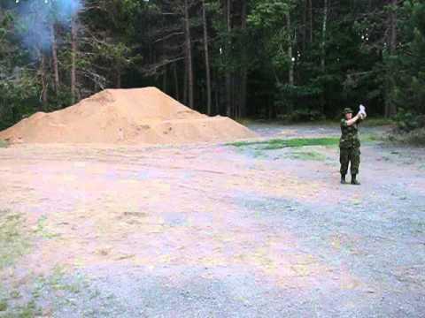 Artillery Simulators at Camp Aldershot