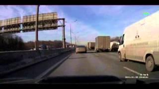 MRR: Zulebino- Sheremetyevo /// МКАД: Жулебино- пос Шереметьево,,,(33 days on this route,,,, 2014-03-09T16:17:13.000Z)