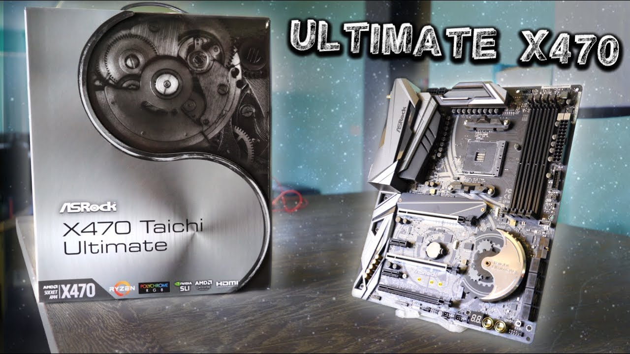 ASRock X470 Taichi Ultimate Review - What's Different Vs