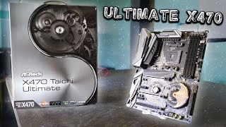 ASRock X470 Taichi Ultimate Review - What's Different Vs. The X370 Taichi?