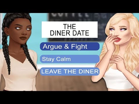 THE DINER DATE! | A Little More Me 2 | Episode 11