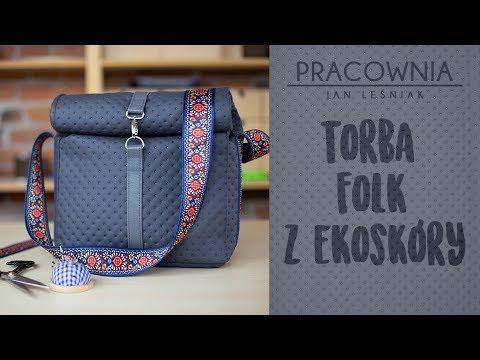 DIY: Torba folk z ekoskóry