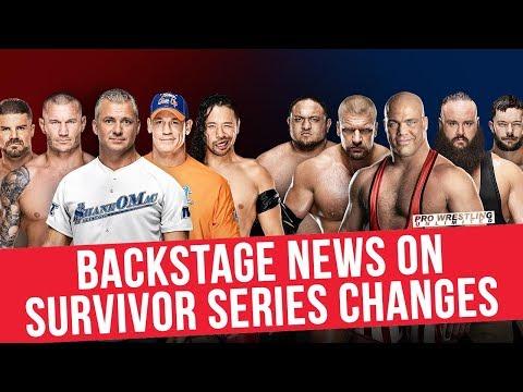 Backstage News On Survivor Series Changes