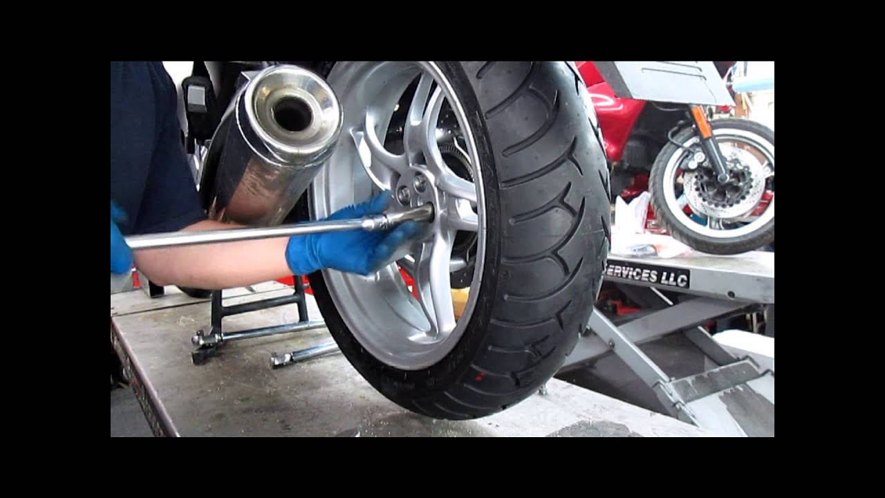 bmw service - rear wheel removal & installation - youtube