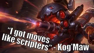 How to Attack/Move like a Scripter with Kog'Maw