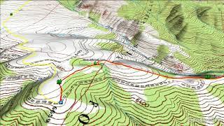 Lewis & Clark Historic Descent Trail - 4th Sept 1805 (USGS)