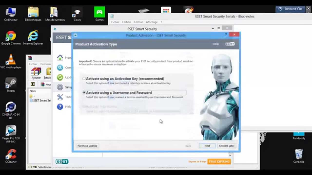 eset smart security antivirus 9 10 11 keys 2019