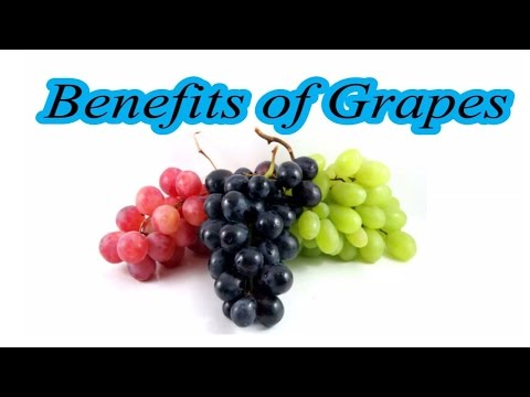 Benefits of Grapes.