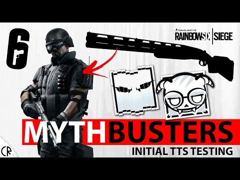 Shotgun Slug Power - TTS Initial Mythbuster Testing - White Noise - Tom Clancy's Rainbow Six - R6