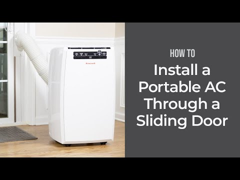 How to install a portable a c unit into a casement window for Installer climatiseur fenetre