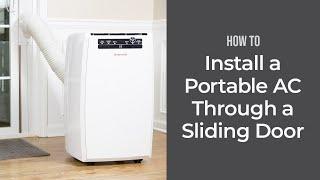 How to Install a Portable Air Conditioner Through a Sliding Door | Sylvane
