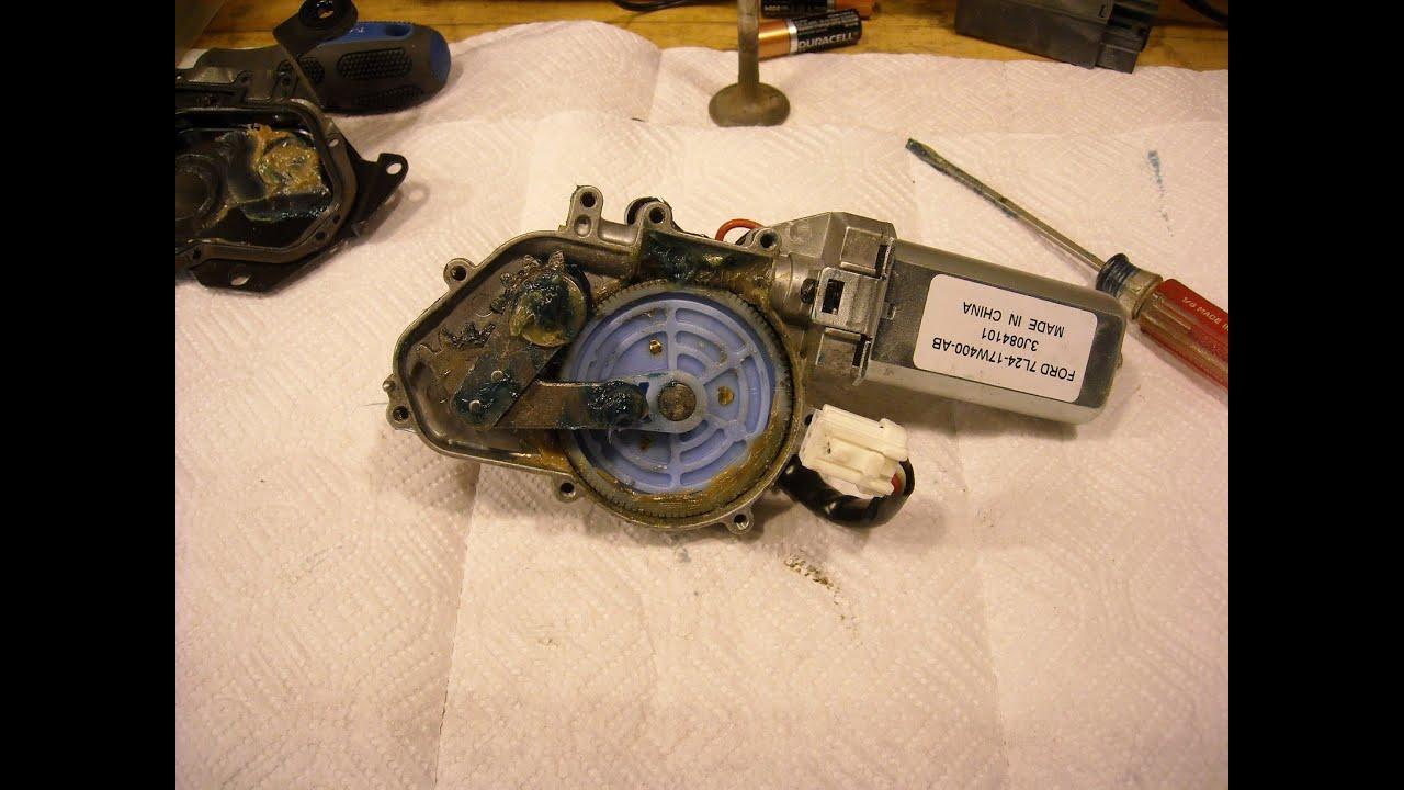 2009 Ford Explorer Rear Wiper Motor Repair Youtube