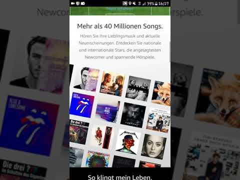 Amazon Music Ultimited Angebot 3 Monate für 99 Cent 2017