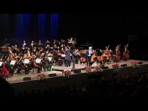 Plácido Domingo & Plácido Jr. Singing Perhaps Love, Odense 24-11-2017
