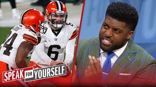 Baker's Browns proved they're serious in playoff win over Steelers - Acho | NFL | SPEAK FOR YOURSELF
