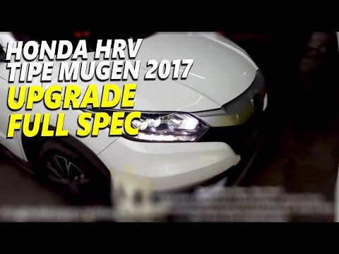 Honda HRV Tipe MUGEN 2017 UPGRADE Headlamp HRV Tipe Prestige + Cover Engine Original Honda Thailand