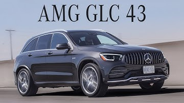 2020 Mercedes-AMG GLC 43 is a Balance of Luxury and Speed