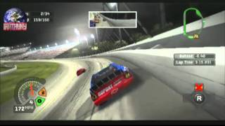 PS2 to HDMI test: NASCAR 06 Total Team Control