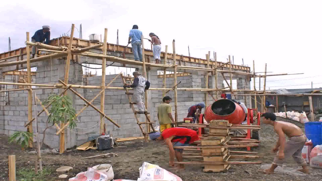 How to build a house foundation in the philippines