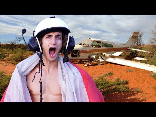 网红飞机坠毁在澳洲荒野, 要极限求生两周【第一集】