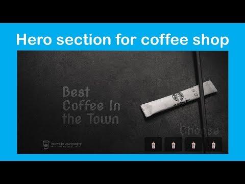 Coffee Shop website with Elementor | Hero Section | speedart  | WordPress tutorials (2019) thumbnail