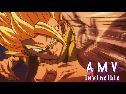 DBS Broly Amv Invincible - Broly Vs Gogeta, Goku, Vegeta and Frieza