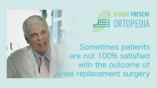 Sometimes patients are not 100% satisfied with the outcome of knee replacement surgery