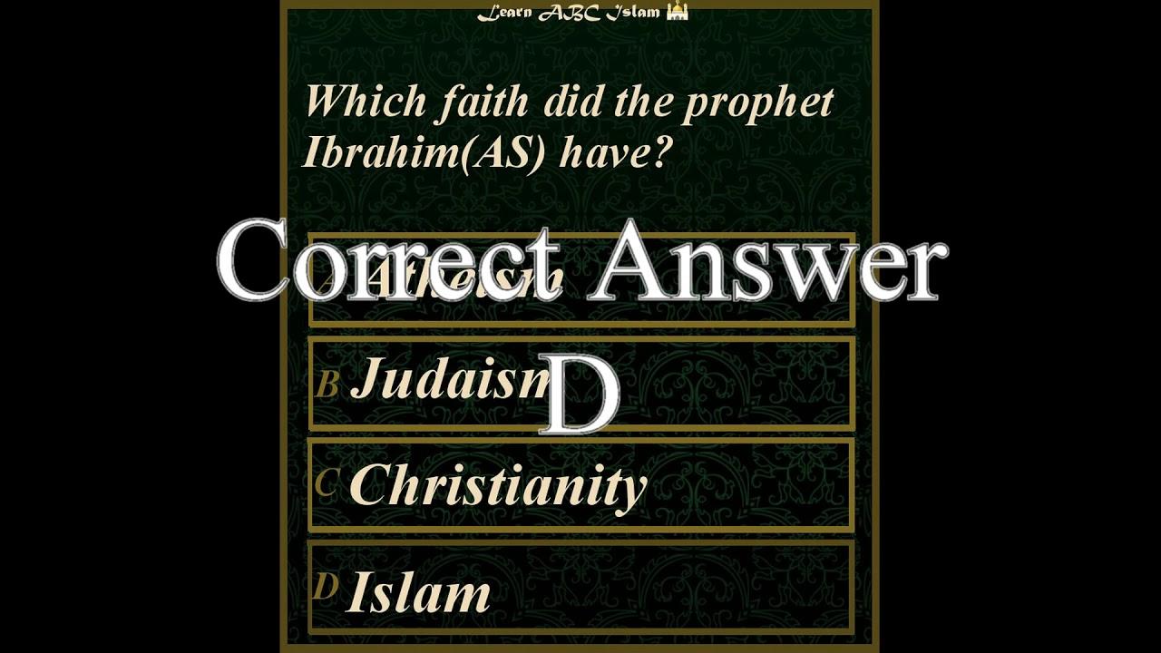 Islamic quiz for kids 4 - Basic - Fun Children Learning ...