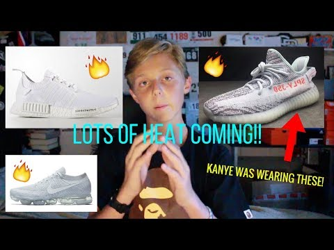 UPCOMING SNEAKER RELEASES (HEAT)!! SEMI YELLOW YEEZY, JAPAN BOOST RESTOCK, AND MORE!!!
