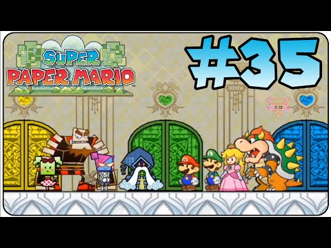 Super Paper Mario Walkthrough Part 35 Chapter 8-4 Tippi And Count Bleck Ending & Credits