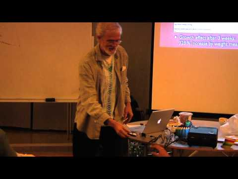 Dan Winter '09 Pt 3 - Magnetic Phase Conjugation & Fractal F