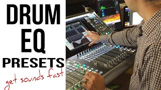 Drum EQ Techniques | Drum EQ Live Presets for Fast Drum Sounds screenshot 2