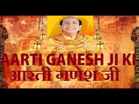 Jai Ganesh Deva Aarti By Mahendra Kapoor with Hindi, English Lyrics Full Video Song