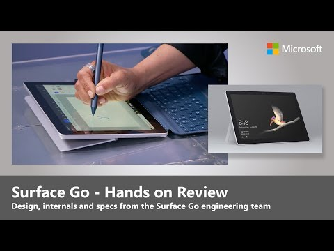 Surface Go - Hands on Review