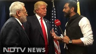 NDTV Exclusive: 'Great Respect For Hindus.' Correction, 'India', Says Donald Trump