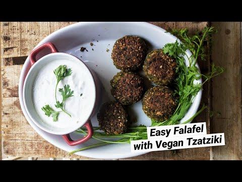 falafel-recipe-|-vegan-tzatziki-|-easy-quarantine-recipe-|-the-food-devotee