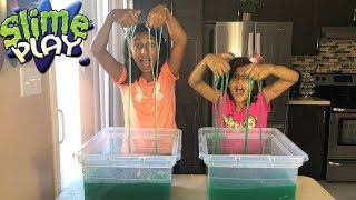 SLIME BAFF TOY CHALLENGE GAME!! with surprise toys