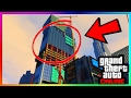 NEW SECRET HIDDEN ROOM FOUND IN CONSTRUCTION SITE BUILDING IN GTA ONLINE! (GTA 5 HIDDEN PLACES)