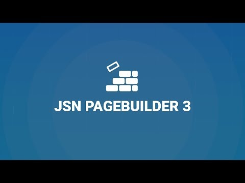 JSN PageBuilder 3 - New Joomla! Page Builder Extension By JoomlaShine!