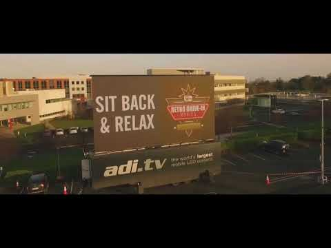 Retro Drive-in Movies @ Cherrywood, Dublin 2016