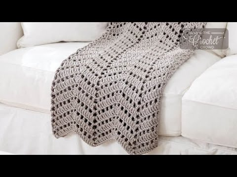 How to Crochet A Wave Afghan: Ripples in the Sand