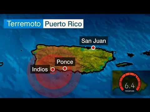 😥 IMAGENES DEL AREA SUR DE PUERTO RICO LUEGO DEL TERREMOTO DE MAGNITUD 6.4