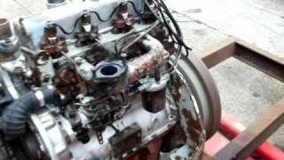 Perkins 4.203 diesel engine starting